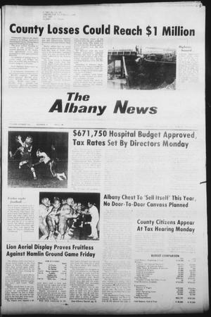 Primary view of object titled 'The Albany News (Albany, Tex.), Vol. 106, No. 18, Ed. 1 Thursday, October 22, 1981'.