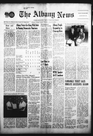 Primary view of object titled 'The Albany News (Albany, Tex.), Vol. 88, No. 42, Ed. 1 Thursday, June 8, 1972'.