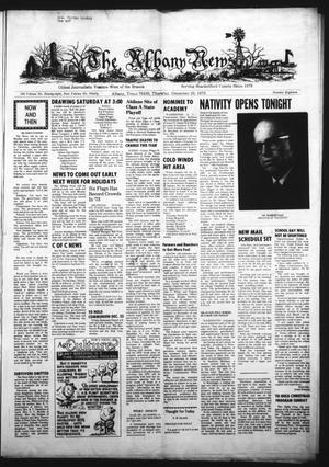 Primary view of object titled 'The Albany News (Albany, Tex.), Vol. 90, No. 18, Ed. 1 Thursday, December 20, 1973'.