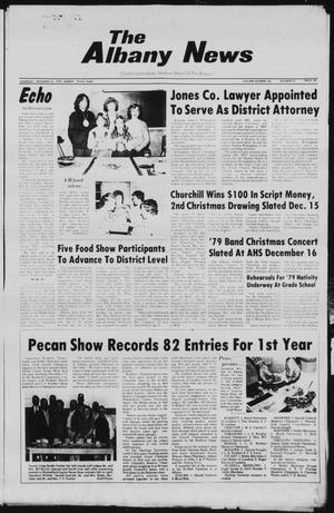 Primary view of object titled 'The Albany News (Albany, Tex.), Vol. 104, No. 25, Ed. 1 Thursday, December 13, 1979'.