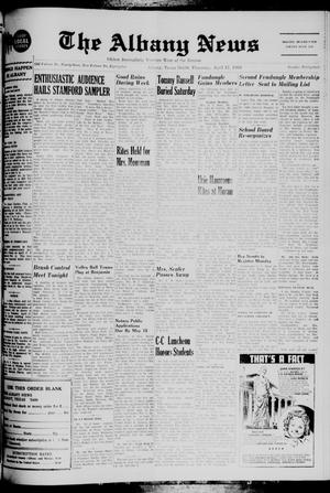 Primary view of object titled 'The Albany News (Albany, Tex.), Vol. 85, No. 34, Ed. 1 Thursday, April 17, 1969'.