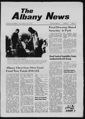 Primary view of object titled 'The Albany News (Albany, Tex.), Vol. 103, No. 25, Ed. 1 Thursday, December 14, 1978'.