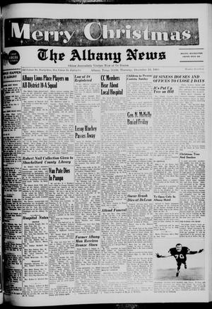 Primary view of object titled 'The Albany News (Albany, Tex.), Vol. 85, No. 17, Ed. 1 Thursday, December 19, 1968'.