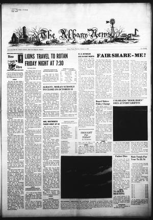 Primary view of object titled 'The Albany News (Albany, Tex.), Vol. 90, No. 8, Ed. 1 Thursday, October 11, 1973'.