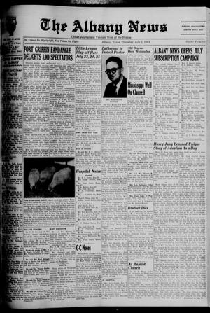 Primary view of object titled 'The Albany News (Albany, Tex.), Vol. 80, No. 44, Ed. 1 Thursday, July 2, 1964'.