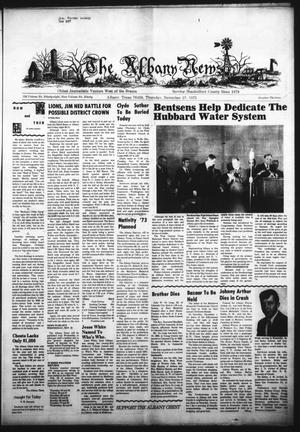 Primary view of object titled 'The Albany News (Albany, Tex.), Vol. 90, No. 13, Ed. 1 Thursday, November 15, 1973'.