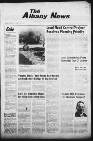 Primary view of object titled 'The Albany News (Albany, Tex.), Vol. 105, No. 40, Ed. 1 Thursday, March 26, 1981'.