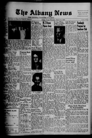 Primary view of object titled 'The Albany News (Albany, Tex.), Vol. 82, No. 30, Ed. 1 Thursday, March 24, 1966'.