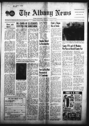 Primary view of object titled 'The Albany News (Albany, Tex.), Vol. 89, No. 7, Ed. 1 Thursday, October 5, 1972'.