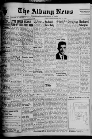 Primary view of object titled 'The Albany News (Albany, Tex.), Vol. 80, No. 46, Ed. 1 Thursday, July 16, 1964'.