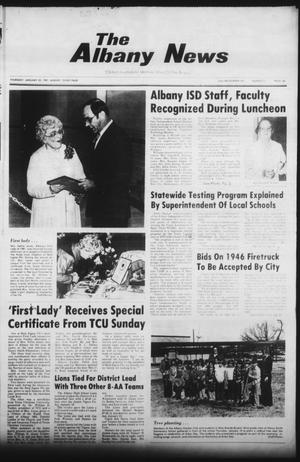 Primary view of object titled 'The Albany News (Albany, Tex.), Vol. 105, No. 31, Ed. 1 Thursday, January 22, 1981'.