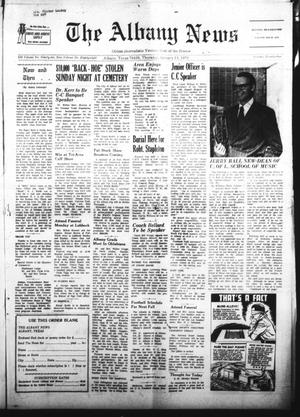 Primary view of object titled 'The Albany News (Albany, Tex.), Vol. 88, No. 21, Ed. 1 Thursday, January 13, 1972'.