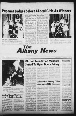 Primary view of object titled 'The Albany News (Albany, Tex.), Vol. 105, No. 26, Ed. 1 Thursday, December 18, 1980'.