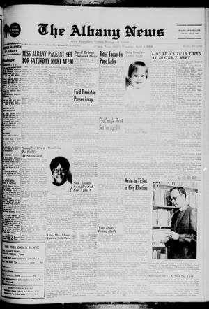 Primary view of object titled 'The Albany News (Albany, Tex.), Vol. 85, No. 32, Ed. 1 Thursday, April 3, 1969'.