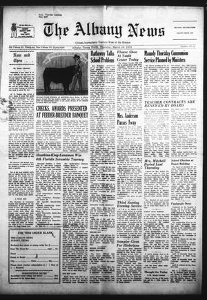 Primary view of object titled 'The Albany News (Albany, Tex.), Vol. 88, No. 30, Ed. 1 Thursday, March 16, 1972'.