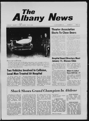 Primary view of object titled 'The Albany News (Albany, Tex.), Vol. 103, No. 30, Ed. 1 Thursday, January 18, 1979'.