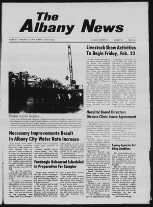 Primary view of object titled 'The Albany News (Albany, Tex.), Vol. 103, No. 35, Ed. 1 Thursday, February 22, 1979'.