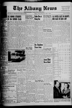 Primary view of object titled 'The Albany News (Albany, Tex.), Vol. 80, No. 36, Ed. 1 Thursday, May 7, 1964'.