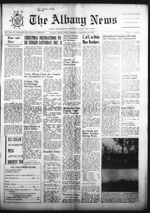 Primary view of object titled 'The Albany News (Albany, Tex.), Vol. 89, No. 17, Ed. 1 Thursday, December 14, 1972'.