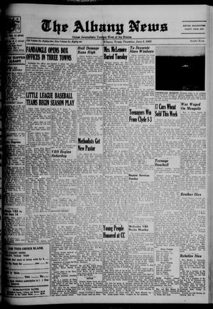 Primary view of object titled 'The Albany News (Albany, Tex.), Vol. 81, No. 40, Ed. 1 Thursday, June 3, 1965'.