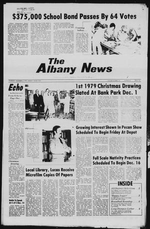 Primary view of object titled 'The Albany News (Albany, Tex.), Vol. 104, No. 24, Ed. 1 Thursday, December 6, 1979'.