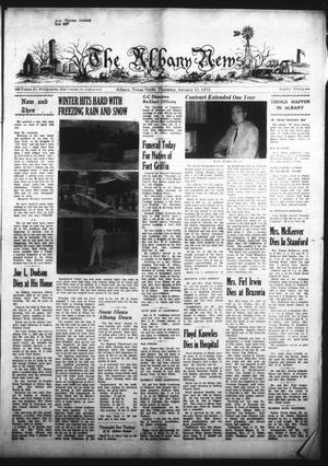 Primary view of object titled 'The Albany News (Albany, Tex.), Vol. 89, No. 21, Ed. 1 Thursday, January 11, 1973'.