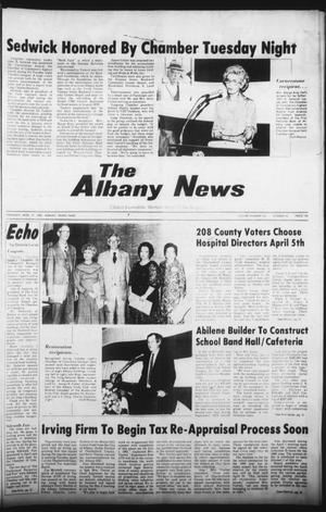 Primary view of object titled 'The Albany News (Albany, Tex.), Vol. 104, No. 42, Ed. 1 Thursday, April 10, 1980'.
