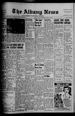 Primary view of object titled 'The Albany News (Albany, Tex.), Vol. 82, No. 45, Ed. 1 Thursday, July 7, 1966'.