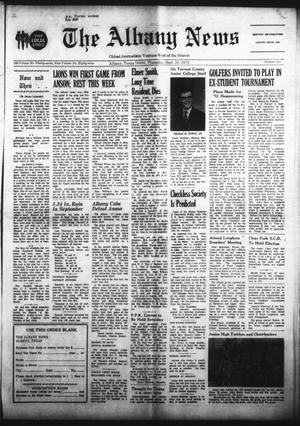 Primary view of object titled 'The Albany News (Albany, Tex.), Vol. 89, No. 6, Ed. 1 Thursday, September 28, 1972'.
