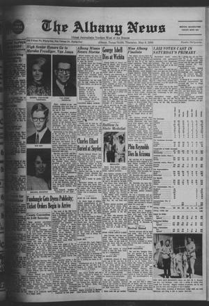Primary view of object titled 'The Albany News (Albany, Tex.), Vol. 84, No. 37, Ed. 1 Thursday, May 9, 1968'.
