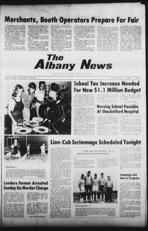 Primary view of object titled 'The Albany News (Albany, Tex.), Vol. 105, No. 9, Ed. 1 Thursday, August 21, 1980'.