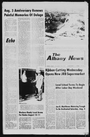 Primary view of object titled 'The Albany News (Albany, Tex.), Vol. 104, No. 6, Ed. 1 Thursday, August 2, 1979'.