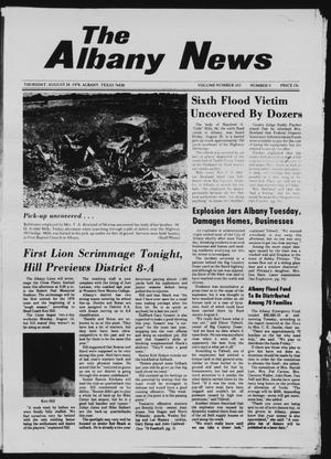 Primary view of object titled 'The Albany News (Albany, Tex.), Vol. 103, No. 9, Ed. 1 Thursday, August 24, 1978'.