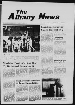 Primary view of object titled 'The Albany News (Albany, Tex.), Vol. 103, No. 23, Ed. 1 Thursday, November 30, 1978'.