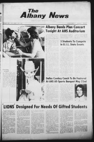 Primary view of object titled 'The Albany News (Albany, Tex.), Vol. 105, No. 46, Ed. 1 Thursday, May 7, 1981'.