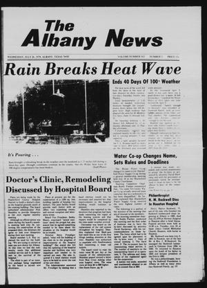 Primary view of object titled 'The Albany News (Albany, Tex.), Vol. 103, No. 5, Ed. 1 Wednesday, July 26, 1978'.
