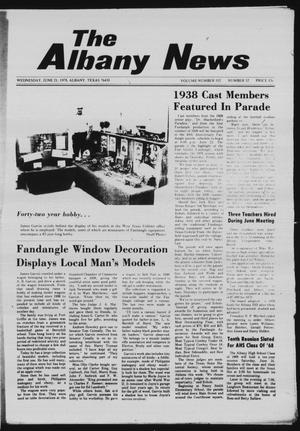 Primary view of object titled 'The Albany News (Albany, Tex.), Vol. 102, No. 52, Ed. 1 Wednesday, June 21, 1978'.