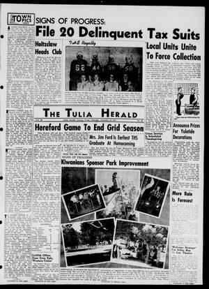 Primary view of object titled 'The Tulia Herald (Tulia, Tex), Vol. 38, No. 46, Ed. 1, Thursday, November 13, 1947'.