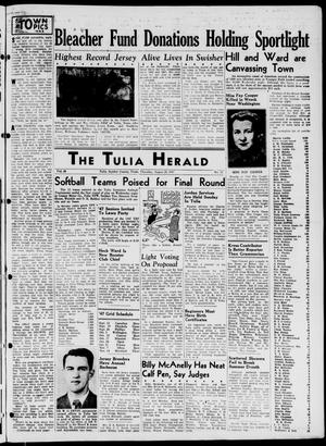 Primary view of object titled 'The Tulia Herald (Tulia, Tex), Vol. 38, No. 35, Ed. 1, Thursday, August 28, 1947'.