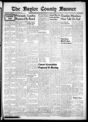 Primary view of object titled 'The Baylor County Banner (Seymour, Tex.), Vol. 59, No. 31, Ed. 1 Thursday, March 24, 1955'.