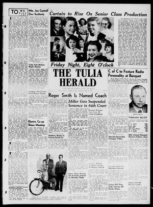 Primary view of object titled 'The Tulia Herald (Tulia, Tex), Vol. 38, No. 18, Ed. 1, Thursday, May 1, 1947'.