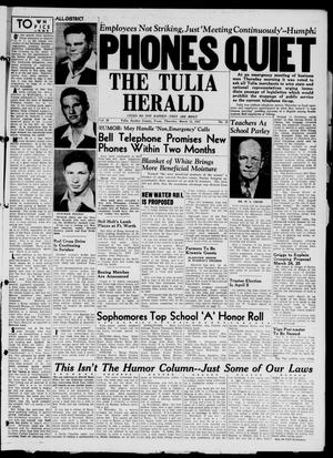 The Tulia Herald (Tulia, Tex), Vol. 38, No. 11, Ed. 1, Thursday, March 13, 1947