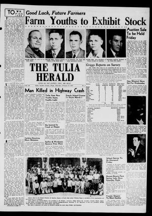 Primary view of object titled 'The Tulia Herald (Tulia, Tex), Vol. 38, No. 9, Ed. 1, Thursday, February 27, 1947'.