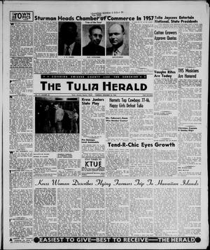 Primary view of object titled 'The Tulia Herald (Tulia, Tex), Vol. 47, No. 50, Ed. 1, Thursday, December 13, 1956'.