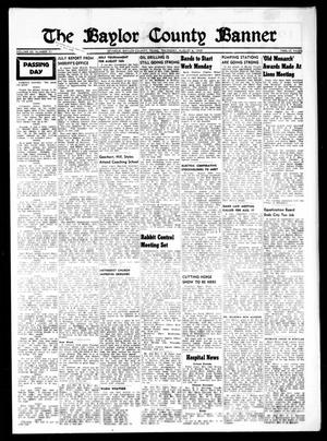 Primary view of object titled 'The Baylor County Banner (Seymour, Tex.), Vol. 63, No. 51, Ed. 1 Thursday, August 6, 1959'.