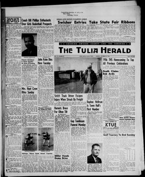 Primary view of object titled 'The Tulia Herald (Tulia, Tex), Vol. 47, No. 43, Ed. 1, Thursday, October 25, 1956'.