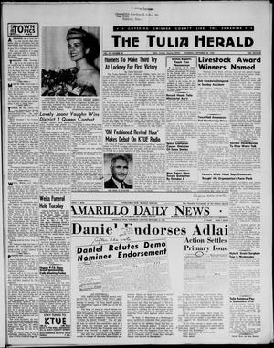 Primary view of object titled 'The Tulia Herald (Tulia, Tex), Vol. 47, No. 38, Ed. 1, Thursday, September 20, 1956'.