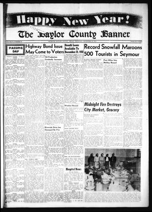 Primary view of object titled 'The Baylor County Banner (Seymour, Tex.), Vol. 59, No. 19, Ed. 1 Thursday, December 30, 1954'.