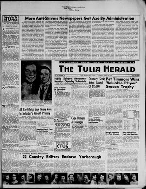 The Tulia Herald (Tulia, Tex), Vol. 47, No. 34, Ed. 1, Thursday, August 23, 1956