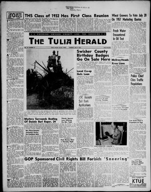 The Tulia Herald (Tulia, Tex), Vol. 47, No. 27, Ed. 1, Thursday, July 5, 1956